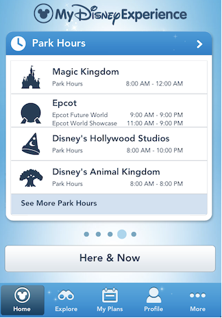 1. Make sure you have the My Disney Experience App on your phone.