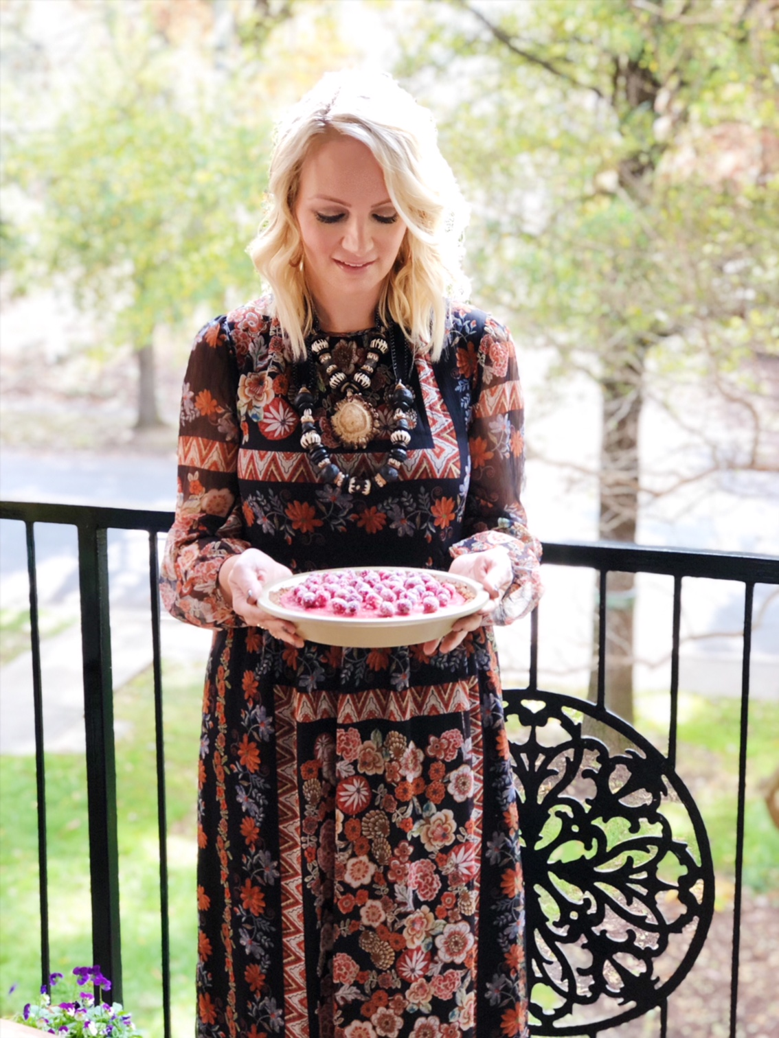 Floral Maxi Dress (was $188, now 30 % OFF)