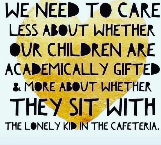 We need to care less about whether our children are academically gifted...