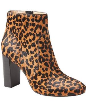 Leopard Booties ($178... now $89)