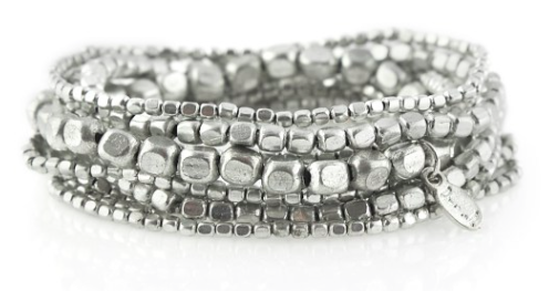 They also carry these sets of bracelets in silver
