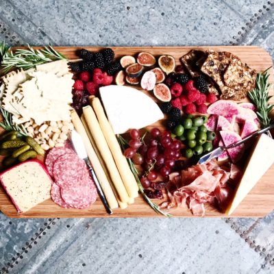 The Perfectly Un-perfect Cheese Board