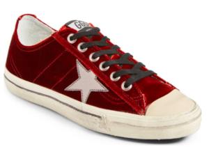 Red Velvet Sneakers
