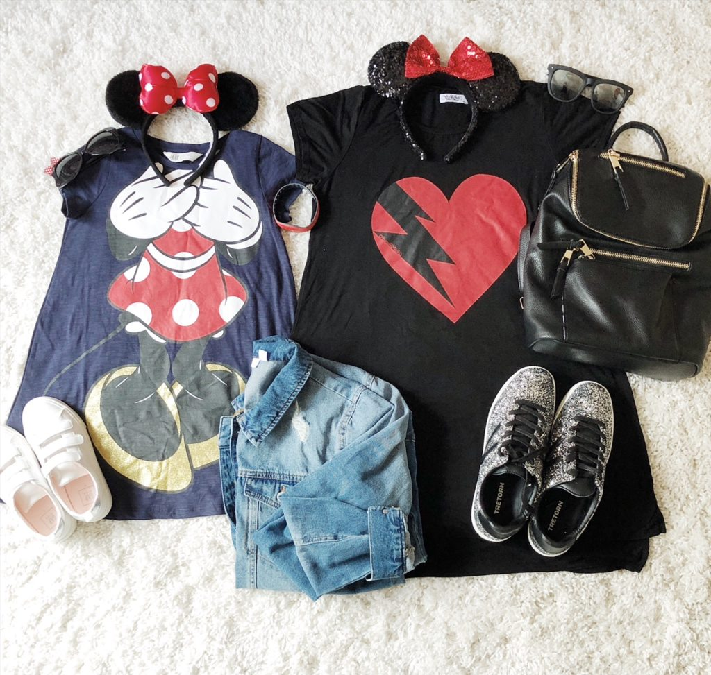 My Dress| Hollins Dress {from in-store at H&M} | Jacket | Ears | My Sneakers | Hollins Sneakers | Backpack