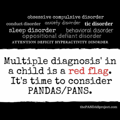 And we have a diagnosis…PANDAS/ PANS