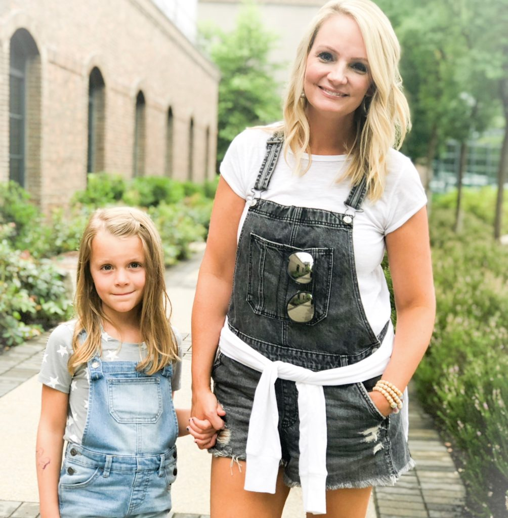 Black Denim Shorts Overalls