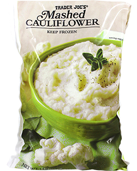 Mashed Cauliflower from Trader Joe's