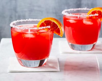 Blood Orange-Habanero Margaritas