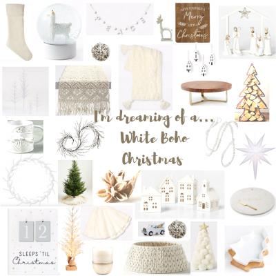 I'm Dreaming of a White (Boho) Christmas
