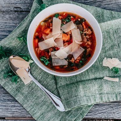 Turkey & Kale Soup