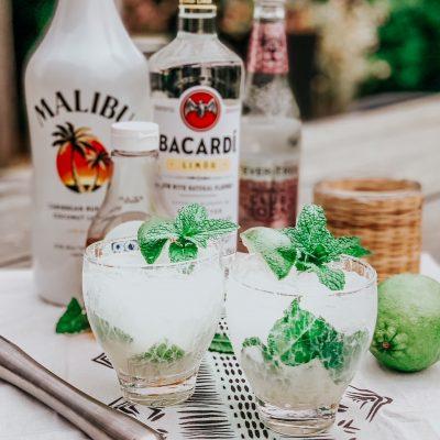 Coconut-Lime Mojitos